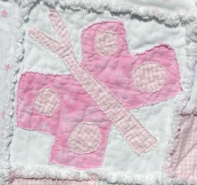Butterfly Rag Quilt Pattern This Rag Quilt Pattern