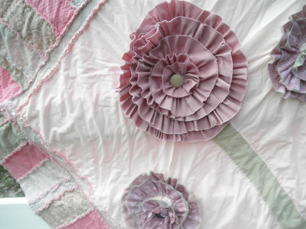 Ruffled Flower Rag Quilt Pattern | A Vision to Remember All Things ...
