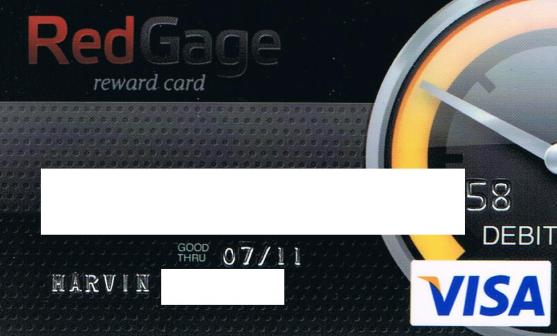 Here is the scanned copy of my visa card. Please understand that I need to