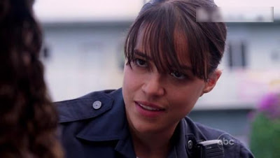 Michelle Rodriguez as Ana-Lucia on LOST