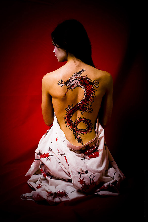 One of the most famous is the red dragon tattoo. The dragon is a very famous