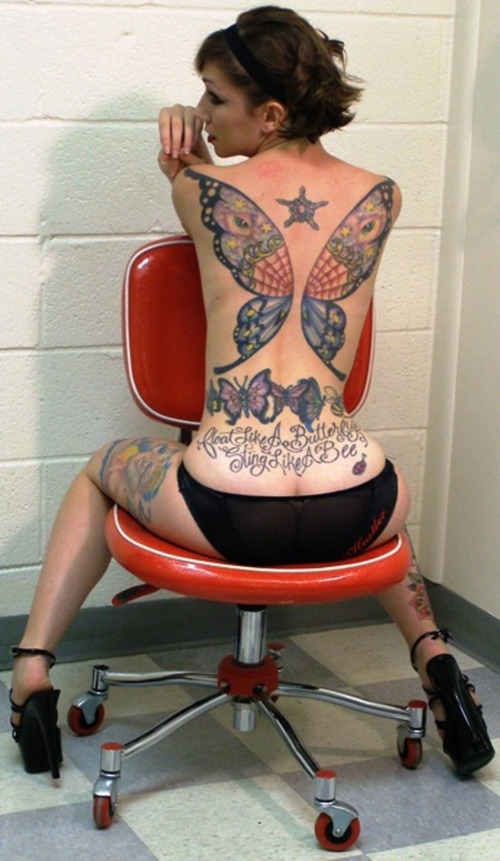SPAIN VS ENGLISH TATTOO DESIGNS: Butterfly Tattoos – Tribal Butterfly Tattoo