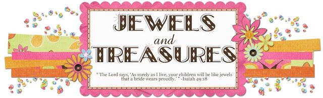 Jewels and Treasures Blog Design