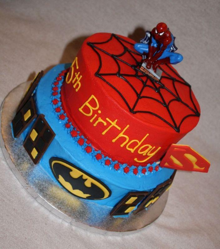 Cake Images Of Spiderman : Super Hero: Super Hero Cakes