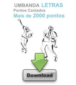 UMBANDA PONTOS CANTADOS letras