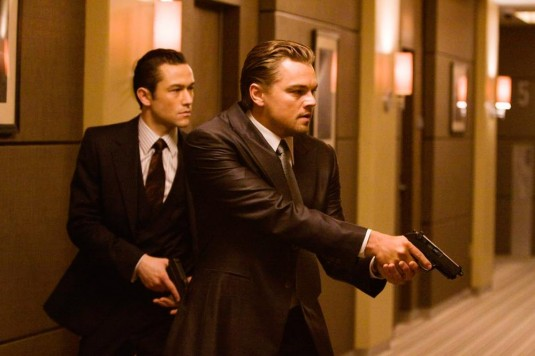 leonardo dicaprio inception squint. DiCaprio and Gordon-Levitt