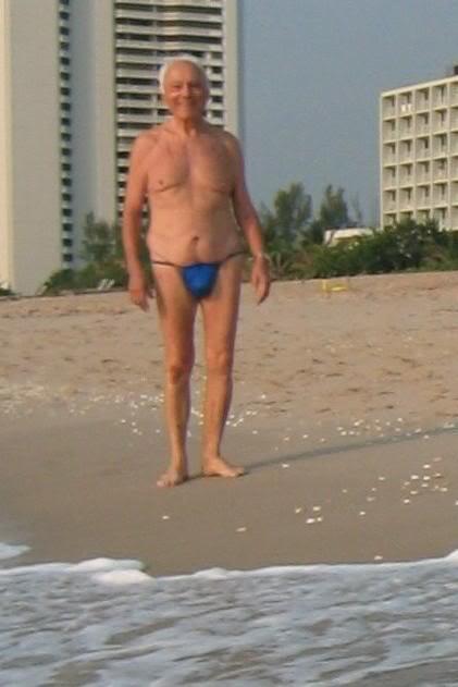 Fat Dude In Thong 29