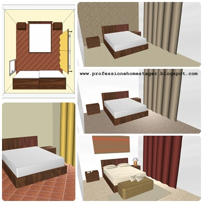 home staging e relooking relooking il supporto della modellazione 3d. Black Bedroom Furniture Sets. Home Design Ideas