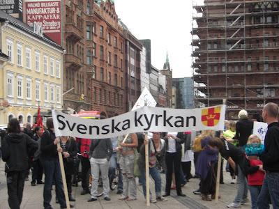 La iglesia sueca también lo hizo.