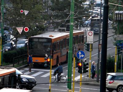 Tal vez hayan en otras ciudades pero aquí fue donde vi por primera vez buses eléctricos.