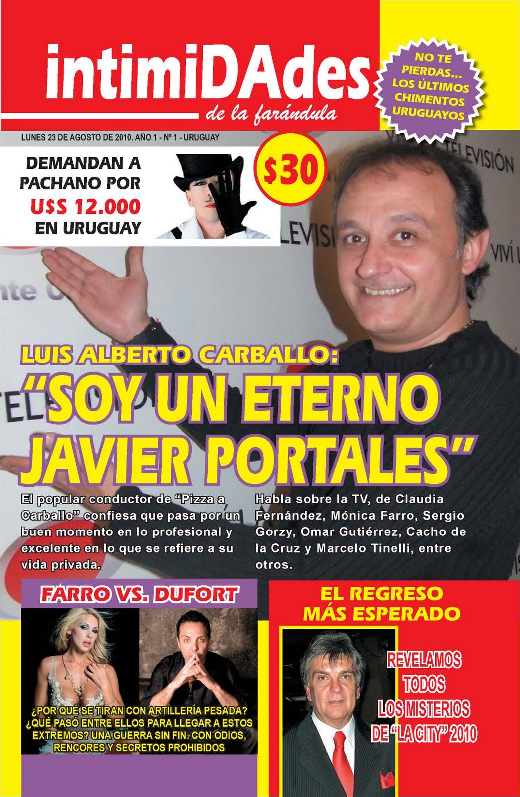 Telemedios intimidades nueva revista de far ndula criolla for Revistas argentinas de farandula