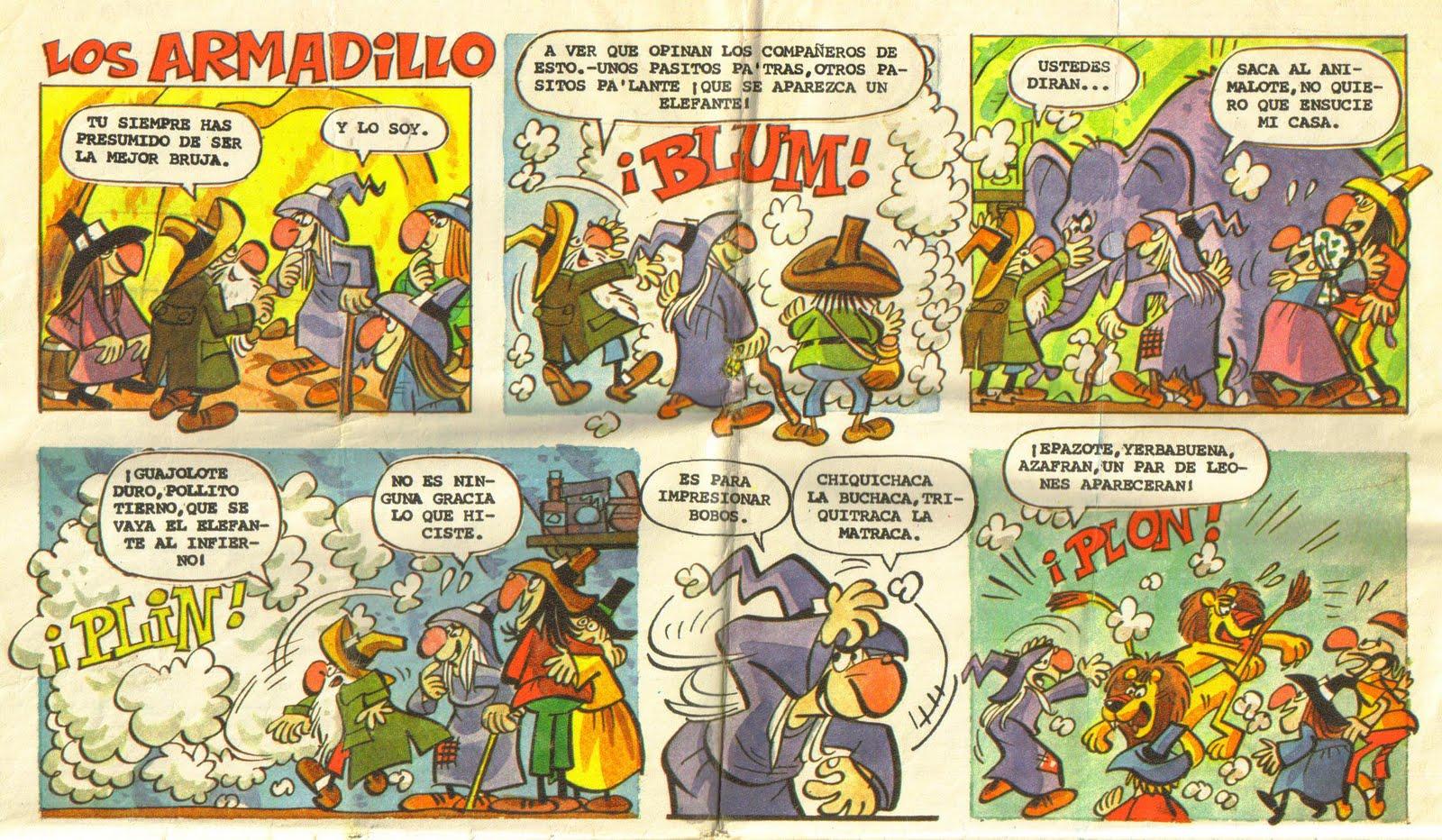 K Comen Los Armadillos STORMS OF STEEL: Los A...