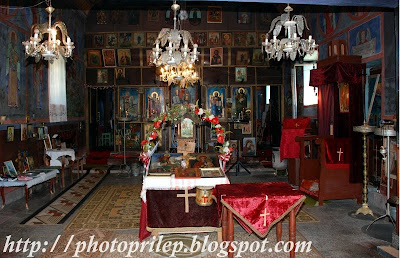 Monastery St.Gjorgjija near the village of Prisad
