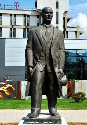 Monument of Metodija Andonov-Cento in Prilep