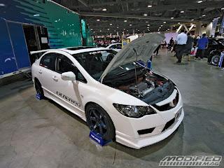 HSR SPORT CAR MODIFICATION Spocom Car Show Honda Civic - Honda car show