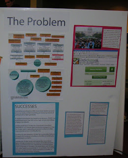 The Problem -- informative poster