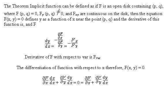 quotient rule differentiation. implicit differentiation