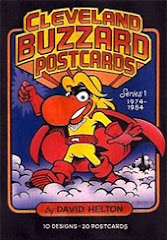 CLEVELAND BUZZARD POSTCARDS
