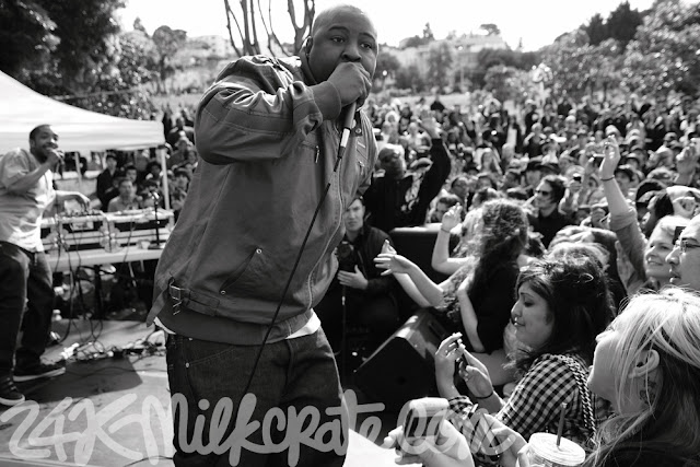 the jacka performing on stage