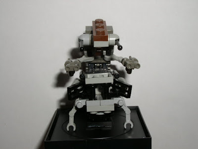 Custom LEGO Star Wars Destroyer Droid (Droideka) - front view
