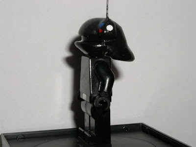 Custom LEGO Star Wars Death Star Gunner - side view