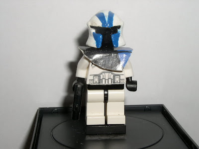 Custom LEGO Star Wars 501st Legion Commander - front view