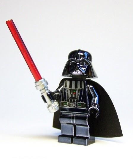 LEGO Chrome Darth Vader