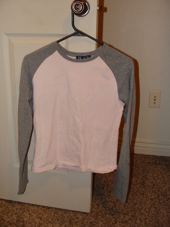 Pink and Gray Long Sleeve