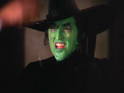 Wizard of Oz: the Wicked Witch is melting