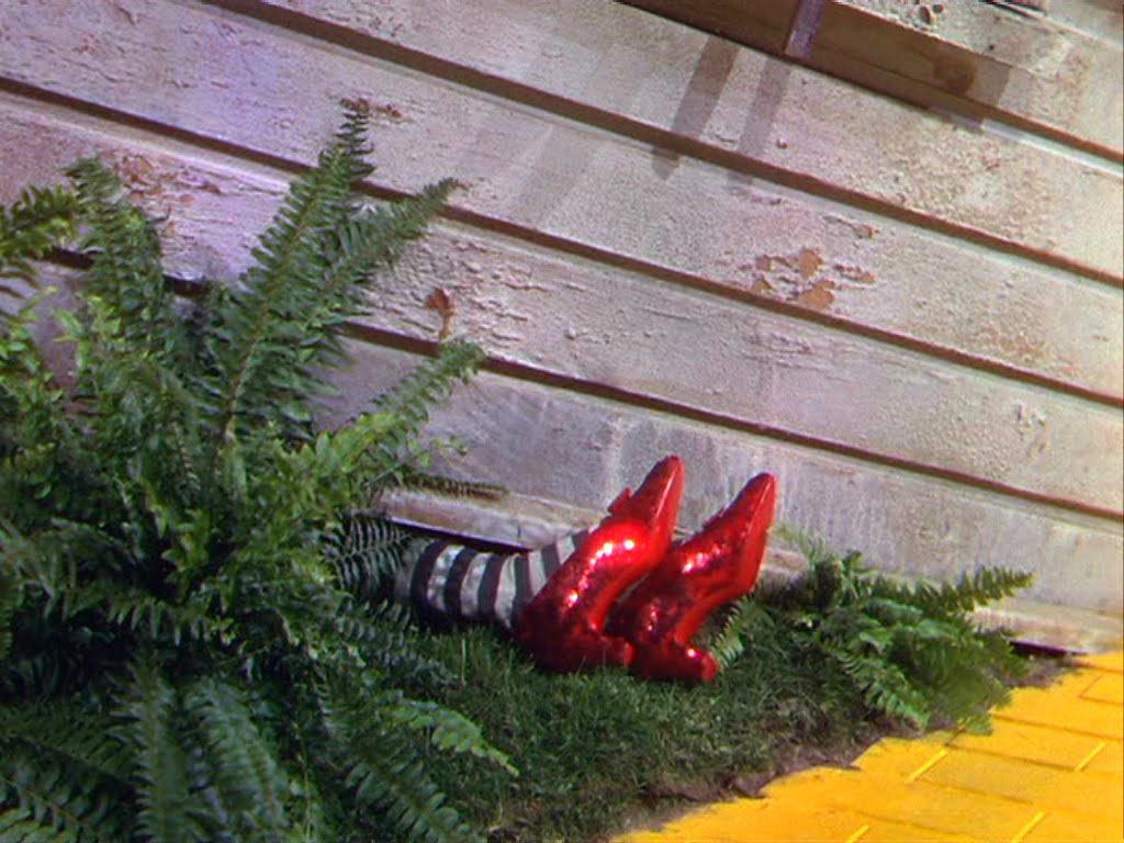 Wizard Of Oz Flying House Wizard of Oz the witch s legs