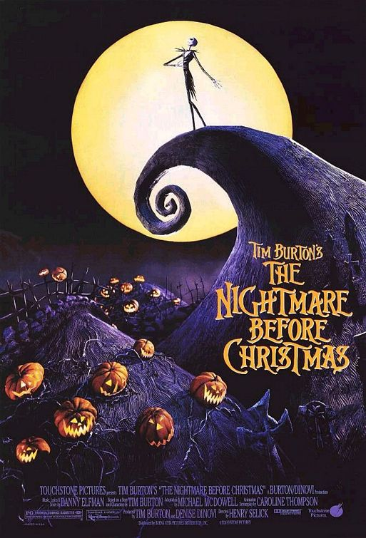 ... Movie Countdown: Movie #2: The Nightmare Before Christmas (1993