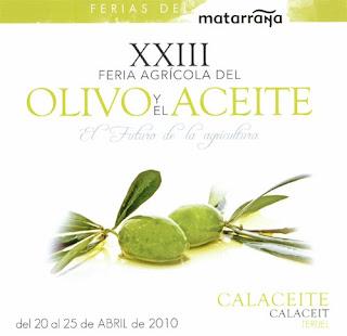 XXIII Feria del Olivo y del Aceite de Calaceite 2010