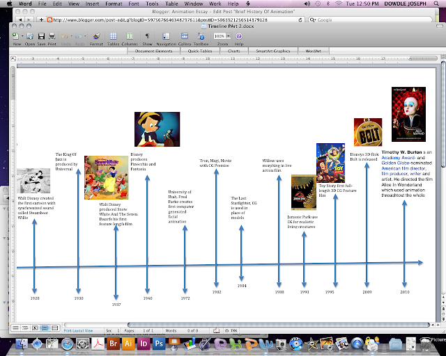 Standard Term Paper Essay: The History Of Animation
