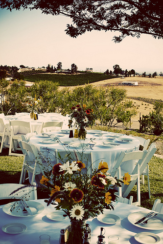 Tuscany provides a wealth of ideas for couple hoping to include their