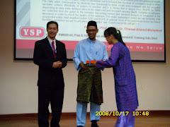 Penyampaian Anugerah Pelajar Cemerlang