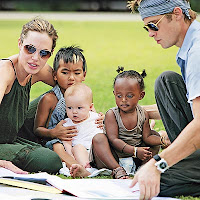Brangelina with stupidly named kids