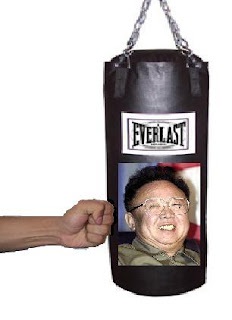 Kim Jong-Il punching bag