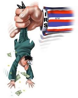 Uncle Sam shakedown