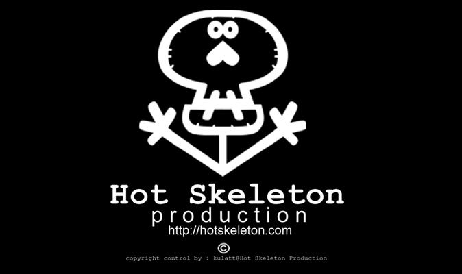 HOT SKELETON-CARICATURE