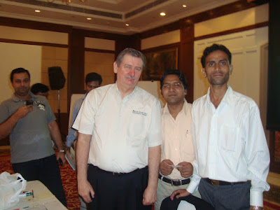 Bruce Clay, Lalit Kumar & Afzal Khan at SEO Training Seminar Gurgaon, India