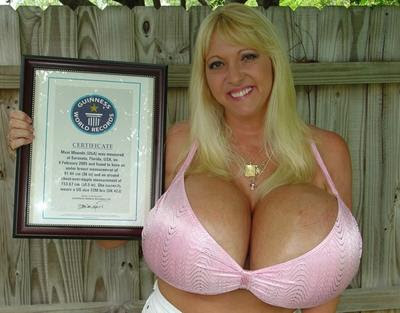 largest tits in world