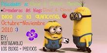 Premio Blog de la Quincena