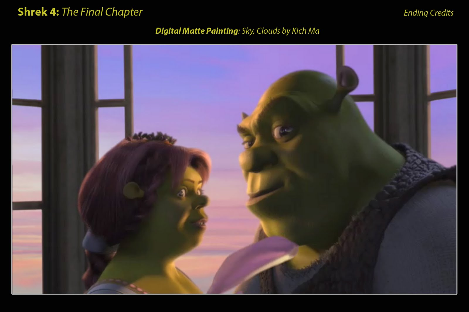 Shrek And Fiona Kissing | Car Interior Design