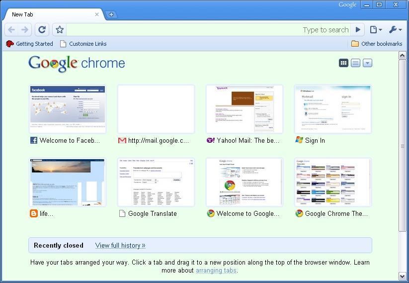 life...: Using blogspot with Google Chrome