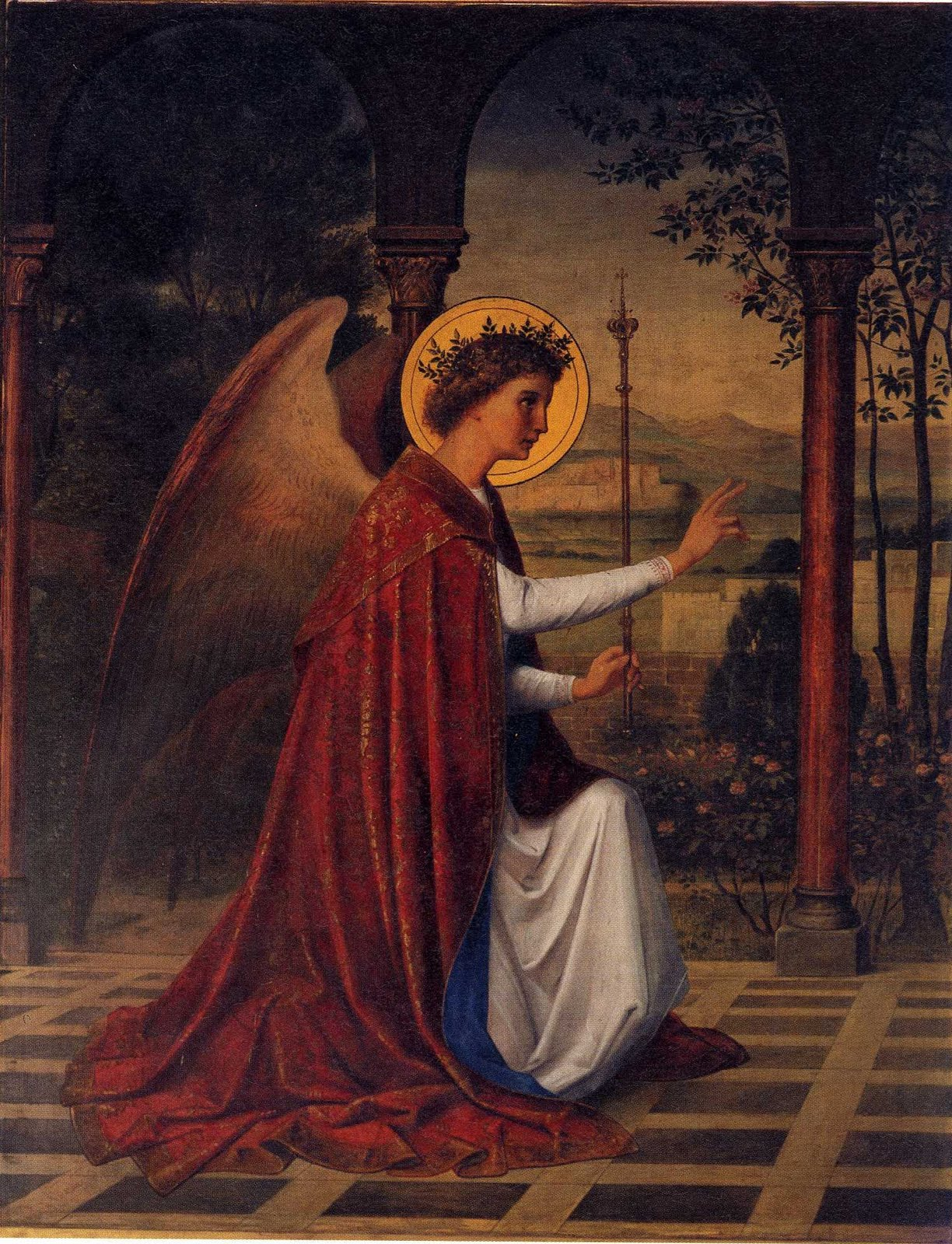 Braut des Lammes: Hll. Michael, Gabriel und Raphael, Erzengel