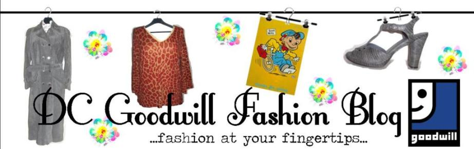 DC Goodwill Fashion Blog