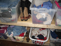 clothes boxes
