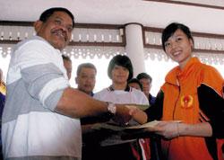 Lindswell Kwok Wushu Medan