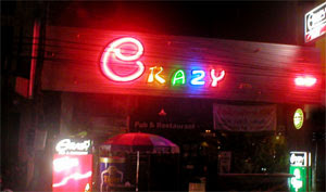 Crazy Pub Krabi Thailand