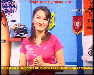 Aviani Malik Sexy Presenter Metro Pagi at Metro TV